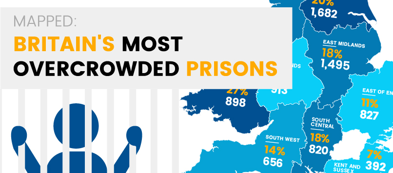 revealed where are britains most overcrowded prisons locksmith service news